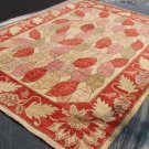 High Quality Hand Made Vegetable Dyed Peshawar Oriental Chobi Rug 10x8 i70705
