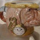 Fitz Floyd 1994 Sherlock Hound Detective Cup Mug Planter