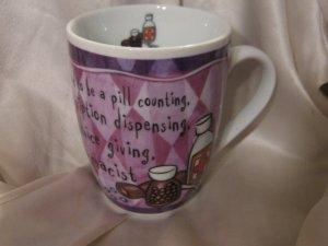 Pharmacist cute coffee cup Mug pharmacy Pill Bottle