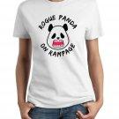 Ladies' T-Shirt - Size M - White - Kawaii Rogue Panda
