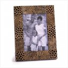 ZEBRA DESIGN WOOD PHOTO FRAME