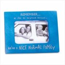"""NORMAL FAMILY"" PHOTO FRAME"