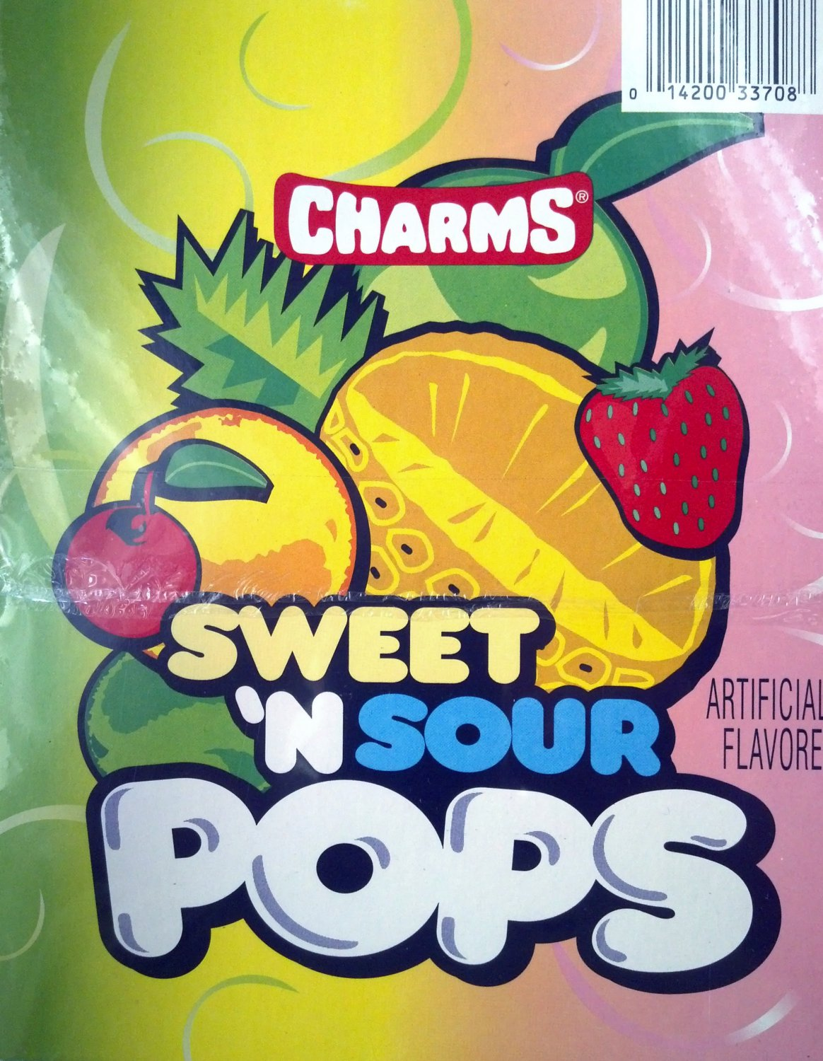 Charms Sweet 'N Sour Pop's 48 Count / 1.87 lbs