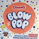 Charms Blow Pop Cherry Flavor 48 Count / 1.95 lbs