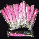 Pink Cherry rock Candy on a stick 24 count