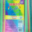 Sour Mixed Fruit Candy Belts 150 count