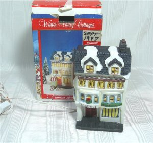 "Winter Valley ""Lodgings"": 4 Story Hotel for Your Christmas Village"