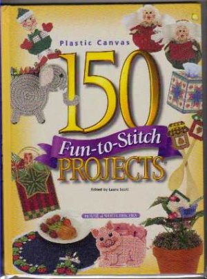 Plastic Canvas Crafts Book HB 150 Projects
