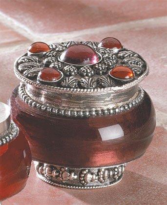 Jeweled-Lid Jar Candles (Lavender)