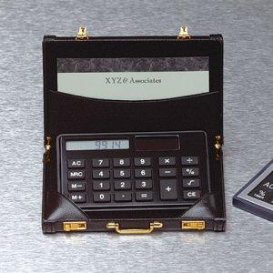 Mini Briefcase with Calculator