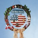 God Bless America Wreath