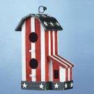 Wooden Americana Birdhouse