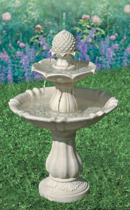 3-Tiered Pineapple Water Fountain