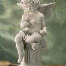 Charming Cherub Garden Sculpture