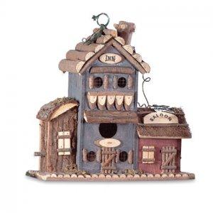 Inn and Saloon Birdhouse