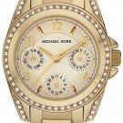 MICHAEL KORS BLAIR CHAMPAGNE DIAL GOLD-TONE STAINLESS STEEL LADIES WATCH MK5639
