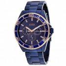 GUESS Men's U0172G6 Iconic Blue Multi-Function Watch