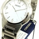 Seiko Men's Mid Size Watch Stainless Steel Band White Dial SFWT81P1 BRAND NEW!