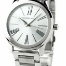 Michael Kors Women's MK3489 Hartman Silver Dial Stainless Steel Bracelet Watch