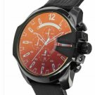 Diesel Men's DZ4323 Black Mega Chief Chronograph Watch Iridescent Dial
