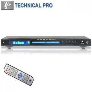 TECHNICAL PRO® DVD/VCD/CD/MPEG4/MP3/WMA/DIVX PLAYER