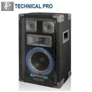 TECHNICAL PRO® 8 INCH 4-WAY CARPETED SPEAKER