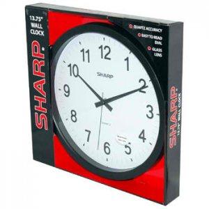 SHARP® WALL CLOCK