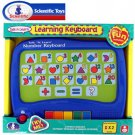 SCIENTIFIC® TOUCH AND LEARN NUMBER KEYBOARD