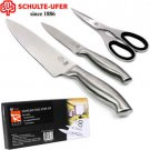 SCHULTE-UFER® 3-PC STAINLESS STEEL KNIFE SET