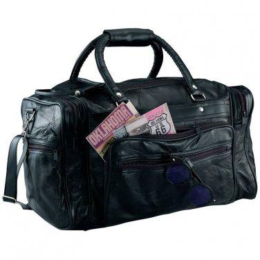 "18"" Genuine Leather Tote Bag"