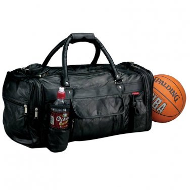 Embassy Leather Gym Bag