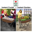 EASY GARDENER QUICK AND EASY GARDEN & COOLER