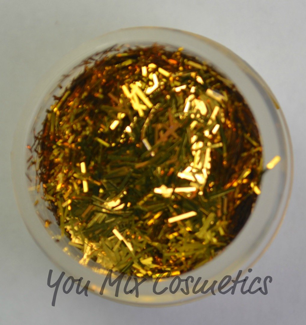 Gold Bar Glitter (1/2 oz container)