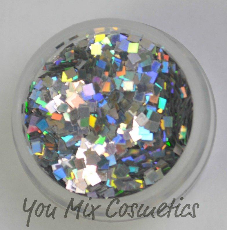 Silver Holo Square Glitter (1 lb)