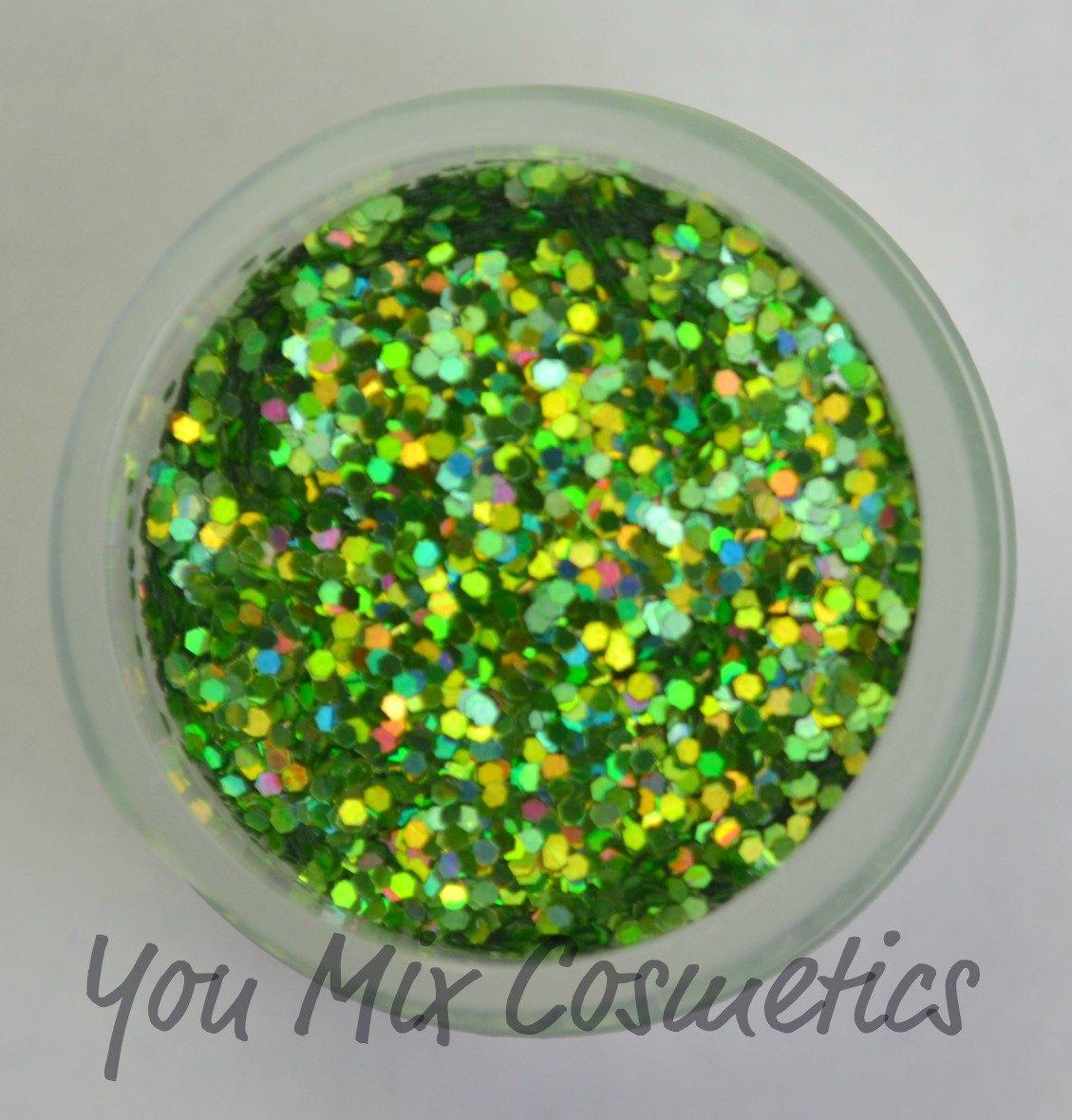 Small Lime Green Holo Glitter (1/4 fl oz)