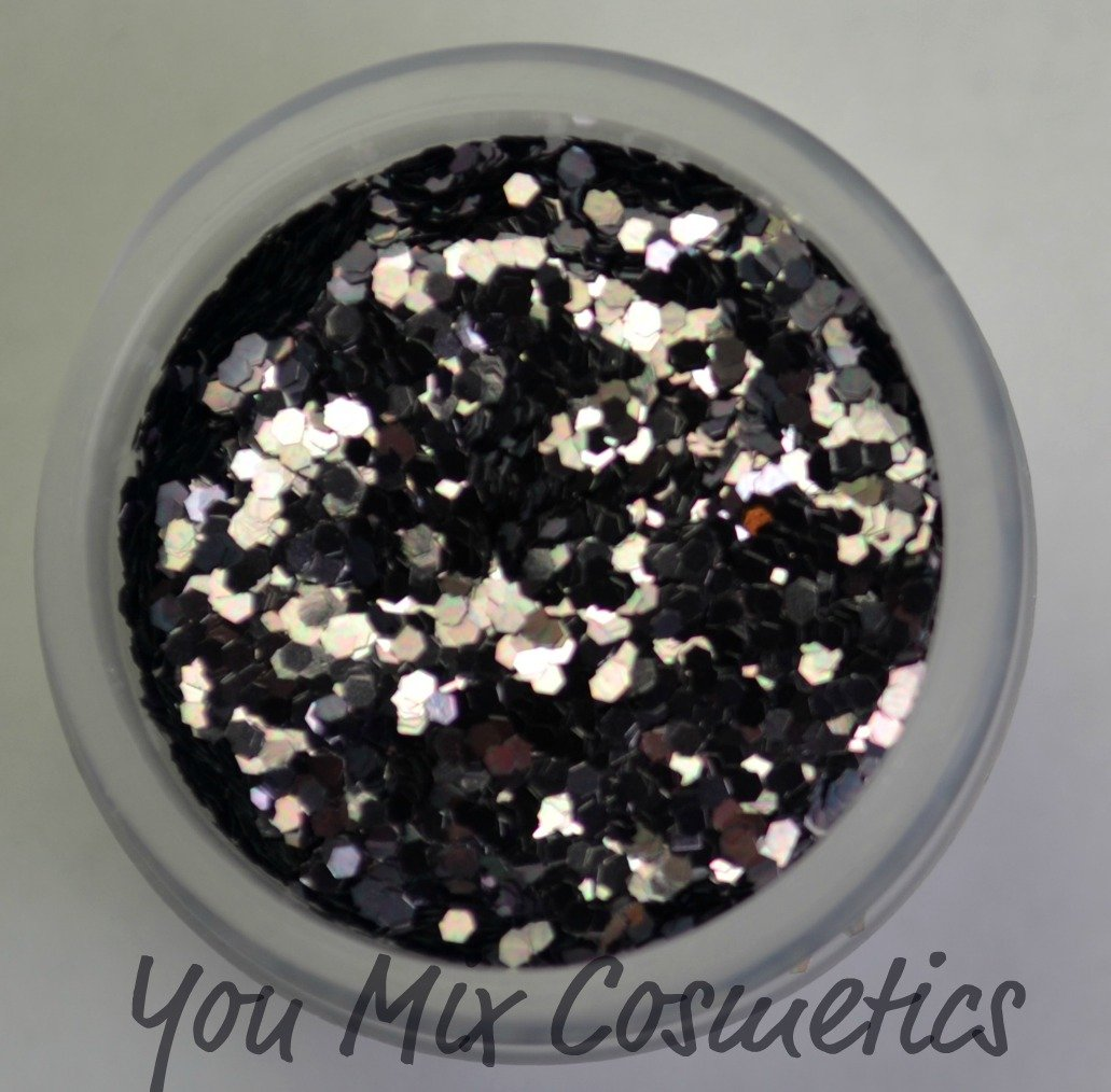 Small Gunmetal Glitter (1/2 fl oz container)