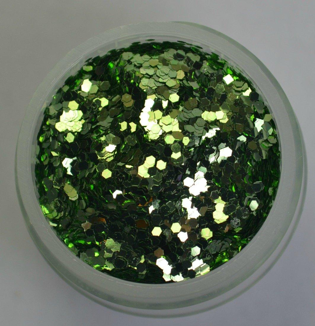 Small Mint Glitter (1/2 fl oz container)