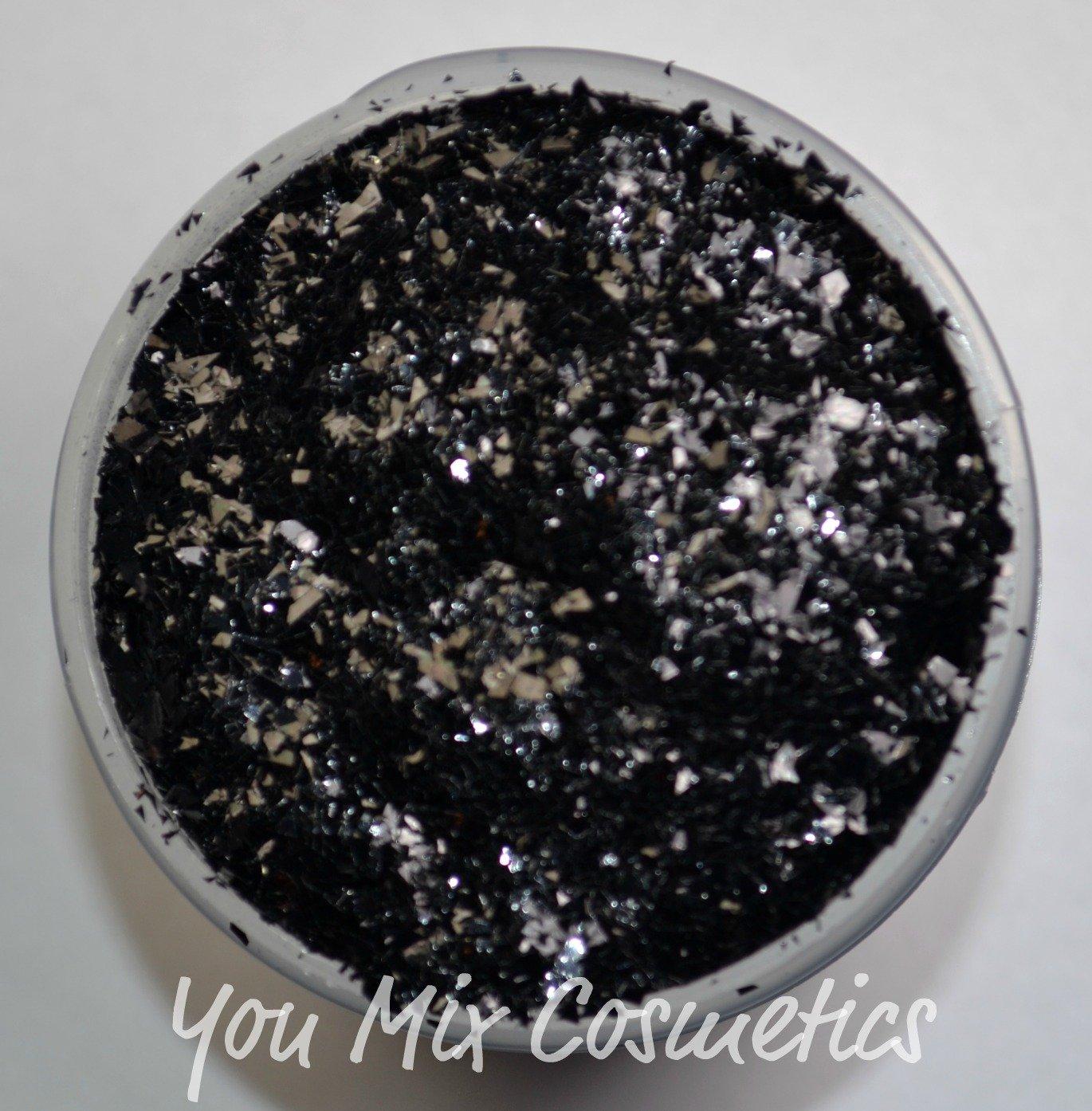 Shredded Black Glitter (4 fl oz container)