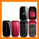 Philips Xenium X216 FM MP3 30 Days Dual SIM Standy Unlocked GSM Flip Cell Phone