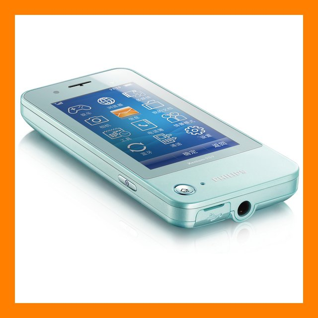 Philips Xenium K600 3MP AF FM A2DP EDGE Touchscreen 30 Days Standby Cell Phone
