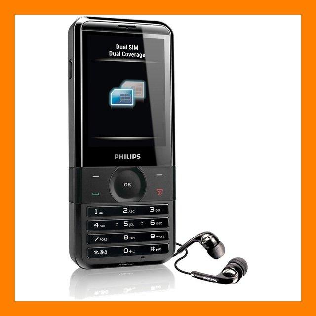 Philips Xenium X710 3MP AF FM MP3 A2DP Dual SIM Active 2G EDGE Mobile Cell Phone
