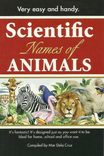 SCIENTIFIC NAMES OF ANIMALS Compiled by MAR DELA CRUZ