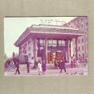 LENINGRAD SAINT PETERSBURG FOLD OUT  POCKET METRO UNDERGROUND RAILWAY MAP 1985