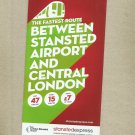 STANSTED EXPRESS TRAINS UNITED KINGDOM STANSTED AIRPORT LONDON LIVERPOOL STREET TIMETABLE 2018