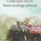 KENT HERITAGE RAILWAYS STEAM RAILWAYS OF KENT ENGLAND WITH COUNTY MAP