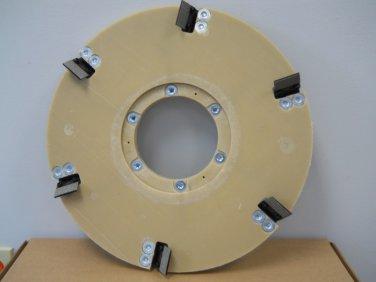 "Diamabrush 12"" Concrete Coating Removal Tool 25 Grit CCW"