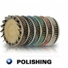 "Diamabrush 17"" Concrete Polishing Tool 400 Grit"