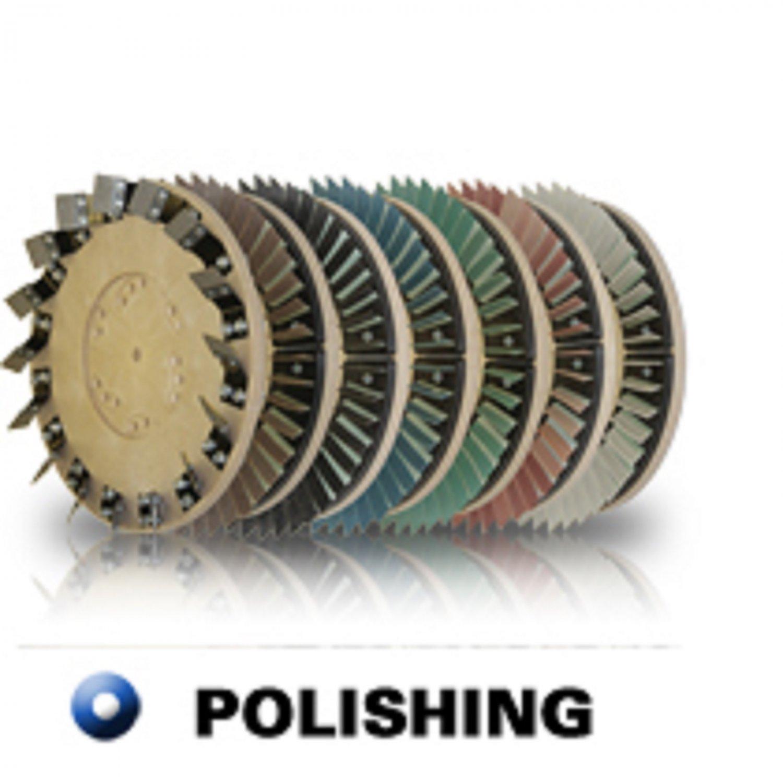 "Diamabrush 19"" Concrete Polishing Tool 400 Grit"