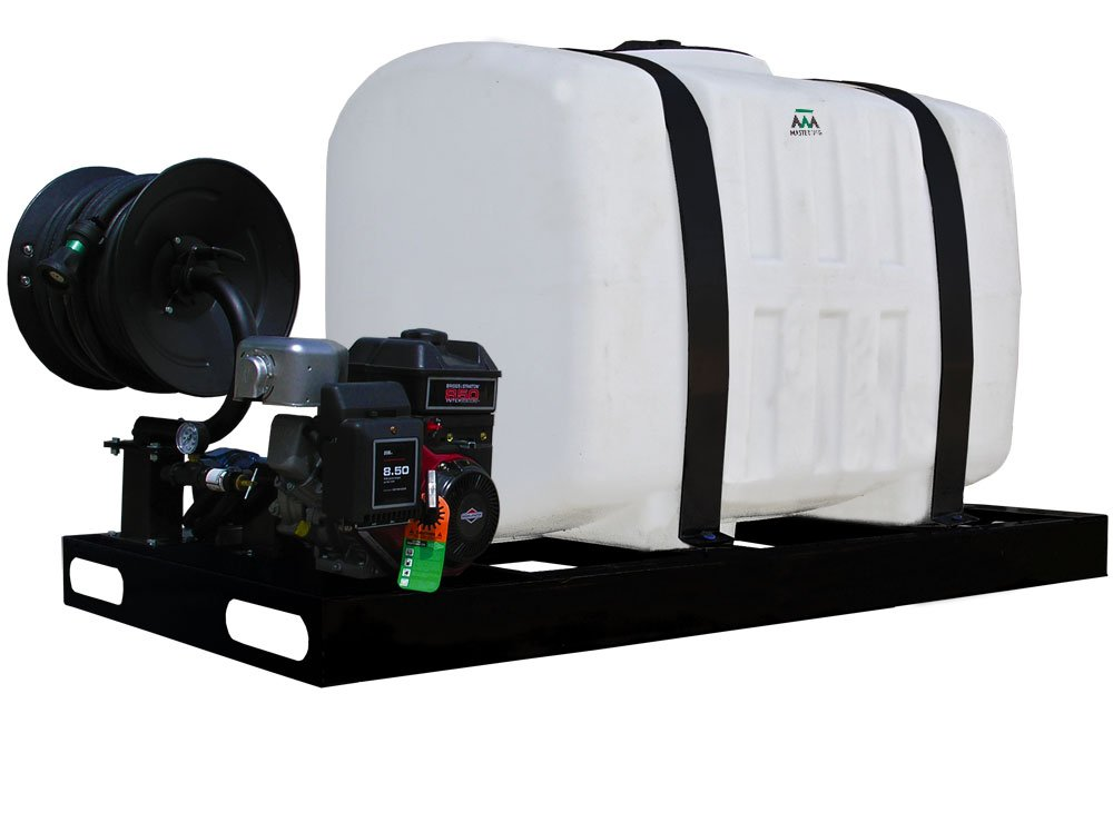 200 Gallon Fire/Dust Sprayer with 8 Roller Delavan Pump