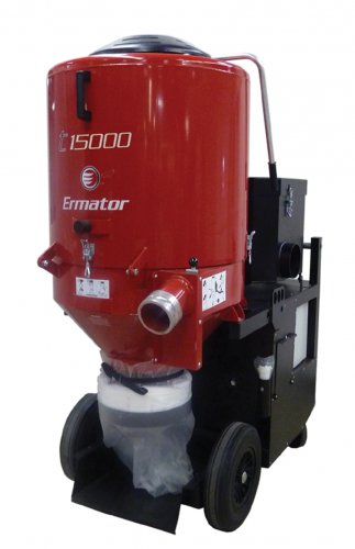 Ermator T15000 HEPA Dust Extractor 4 Grinders - 230V - 3-Phase